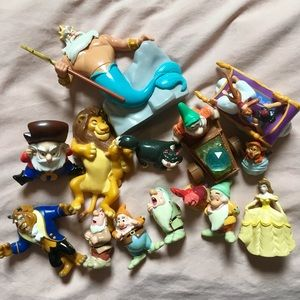 Disney Collectible Figurines Lot of 14